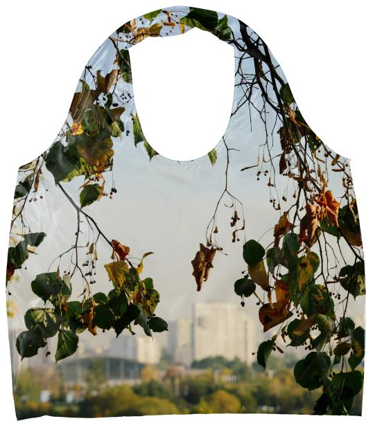 Autumn in the city Eco Tote