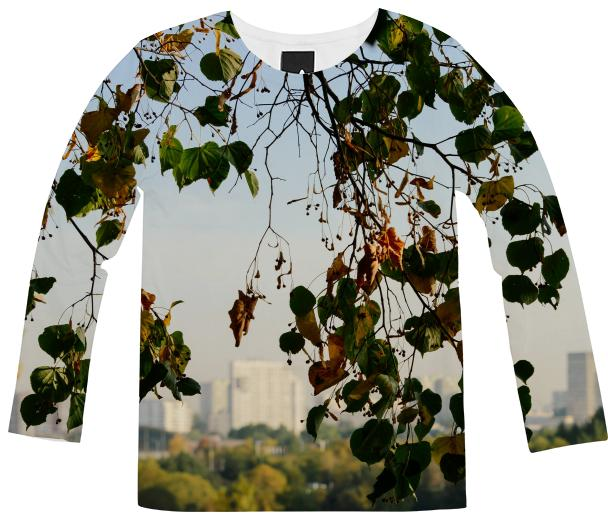 Autumn in the city Long Sleeve Shirt