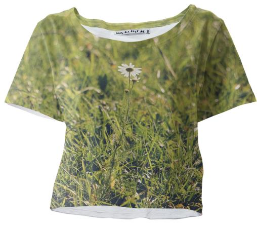 Little Camomile Crop Tee