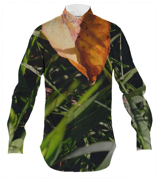 Fall Leaf Men s Button Down