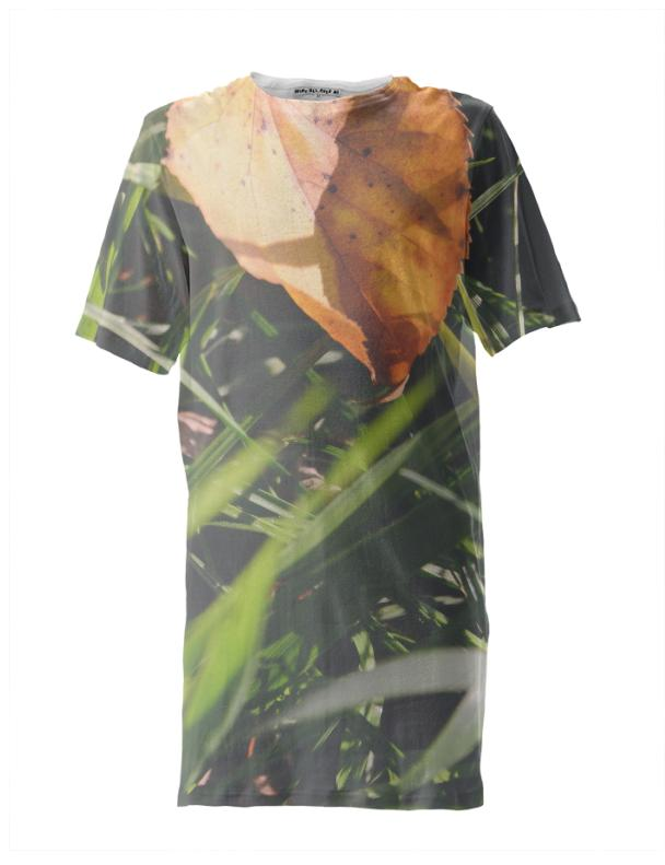 Fall Leaf Tall Tee
