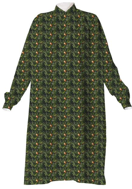 Fall Leaf VP Shirtdress
