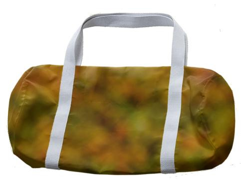 Autumn Background Duffle Bag