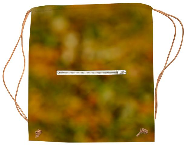 Autumn Background Sports Bag