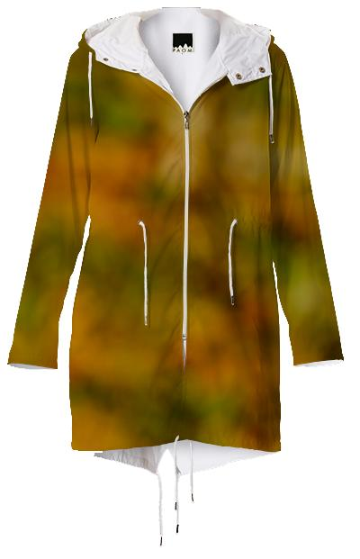 Autumn Background Raincoat