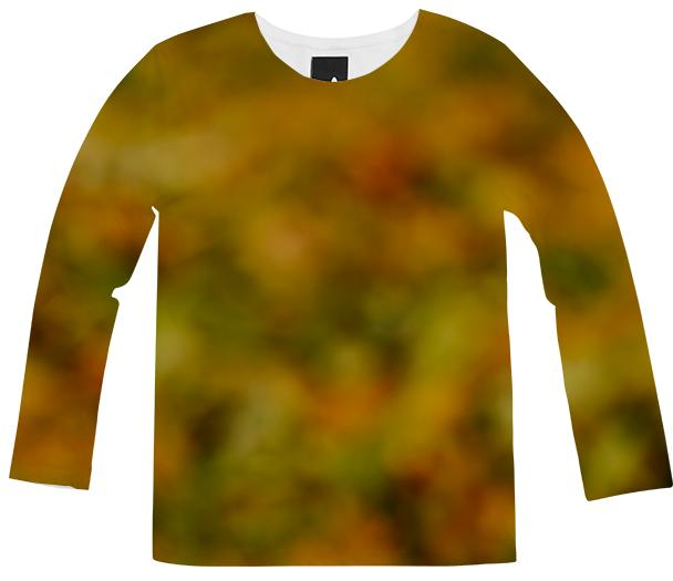 Autumn Background Long Sleeve Shirt