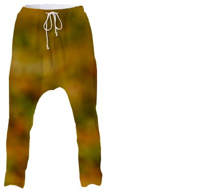 Autumn Background Drop Pant