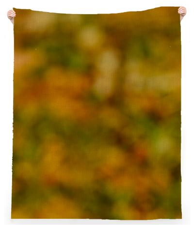 Autumn Background Linen Beach Throw