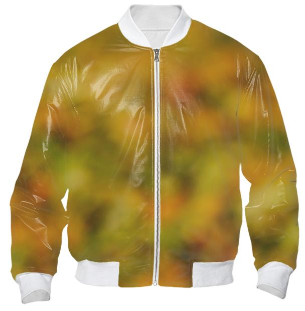 Autumn Background Bomber Jacket