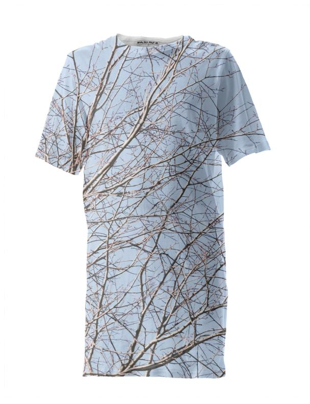 Tangled Blue Sky Tall Tee