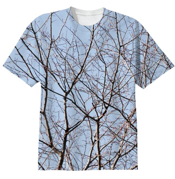 Tangled Blue Sky T shirt