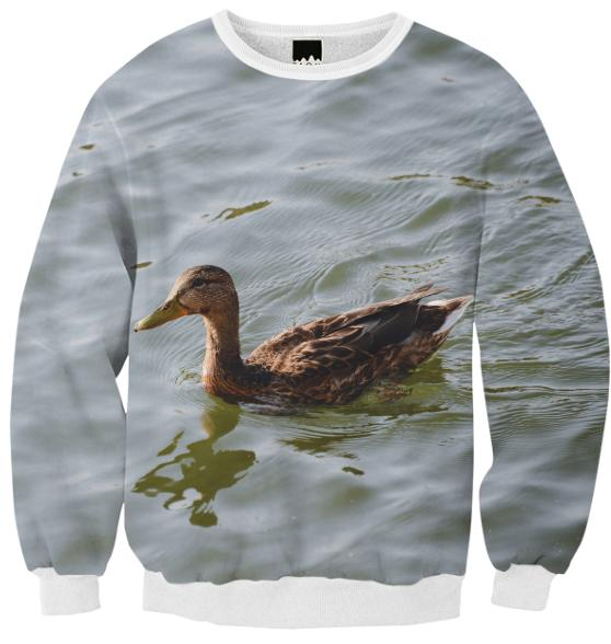 Duck Ribbed Sweatshirt