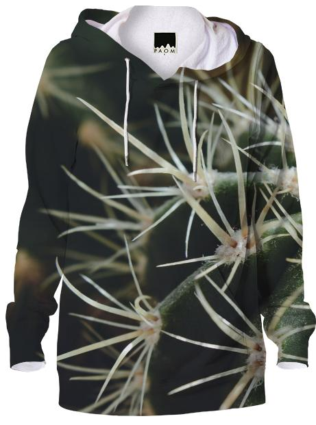 Cactus Close Up Hoodie
