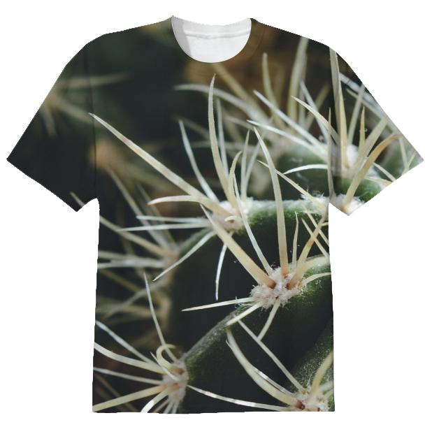 Cactus Close Up T shirt