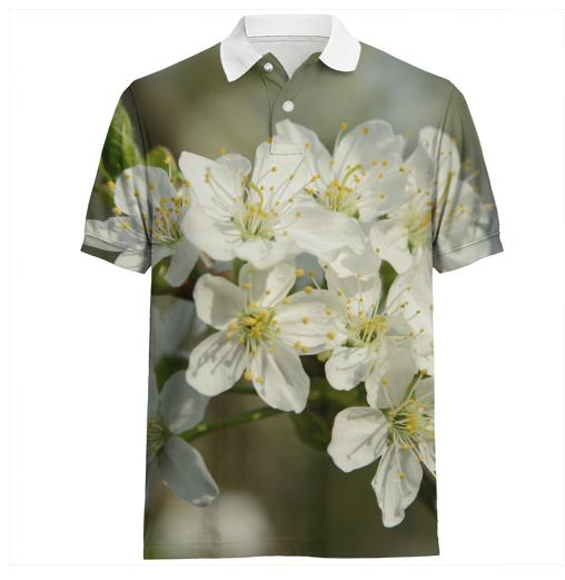 Spring Flowers Polo Shirt