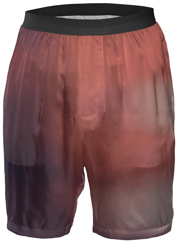 Red Gradient Boxer Shorts