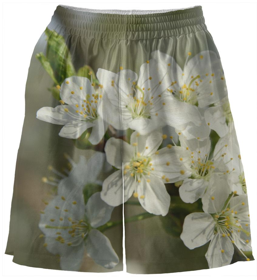 Spring Flowers Basketball Shorts