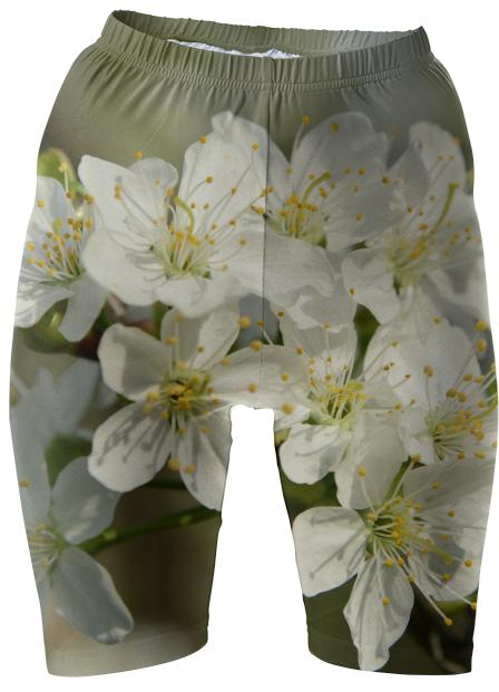 Spring Flowers Bike Shorts