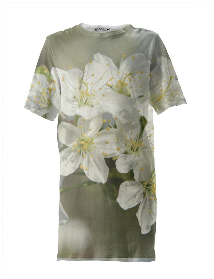 Spring Flowers Closeup Tall Tee