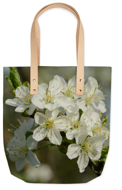 Spring Flowers Summer Tote