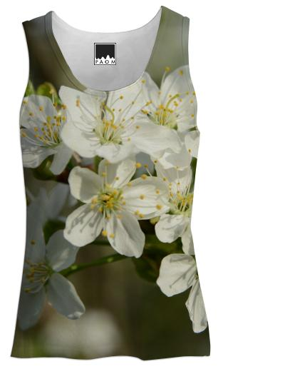 Spring Flowers Tank Top Women