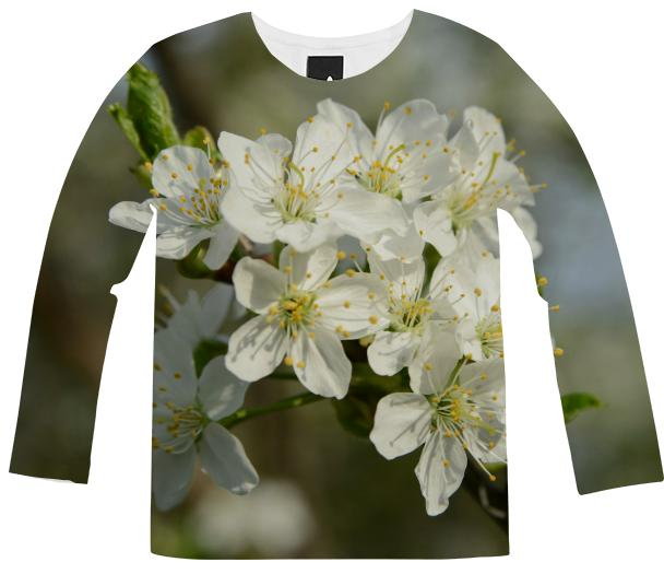 Spring Flowers Long Sleeve Shirt