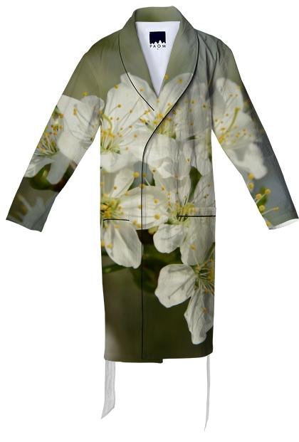 Spring Flowers Cotton Robe