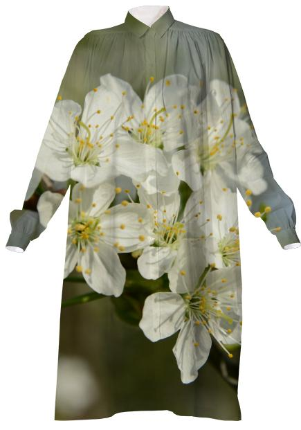 Spring Flowers VP Shirtdress
