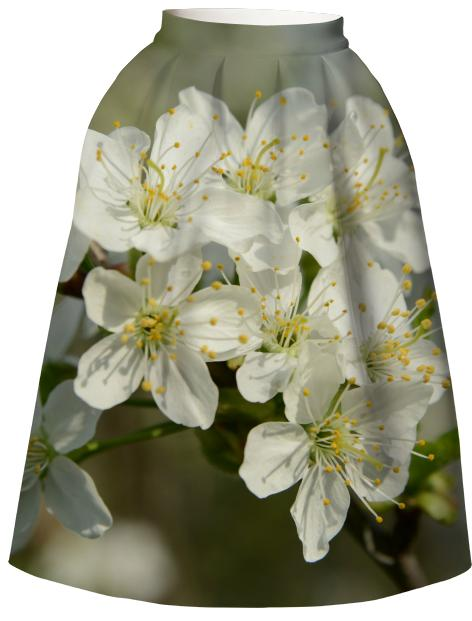 Spring Flowers VP Neoprene Full Skirt