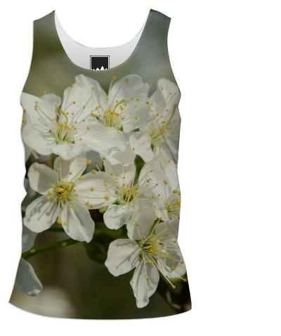 Spring Flowers Tank Top Men