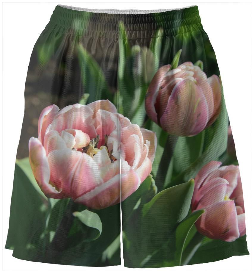 Tulips Basketball Shorts