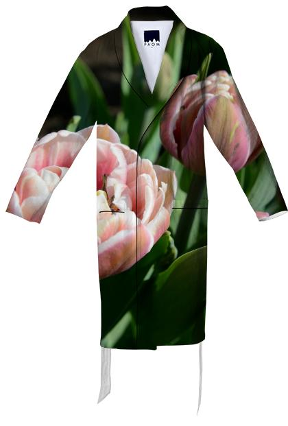 Tulips Cotton Robe