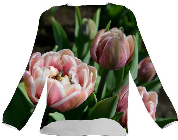 Tulips VP Silk Top