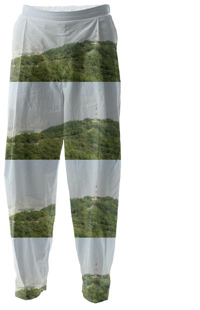 Seoul View Pattern Relaxed Pant