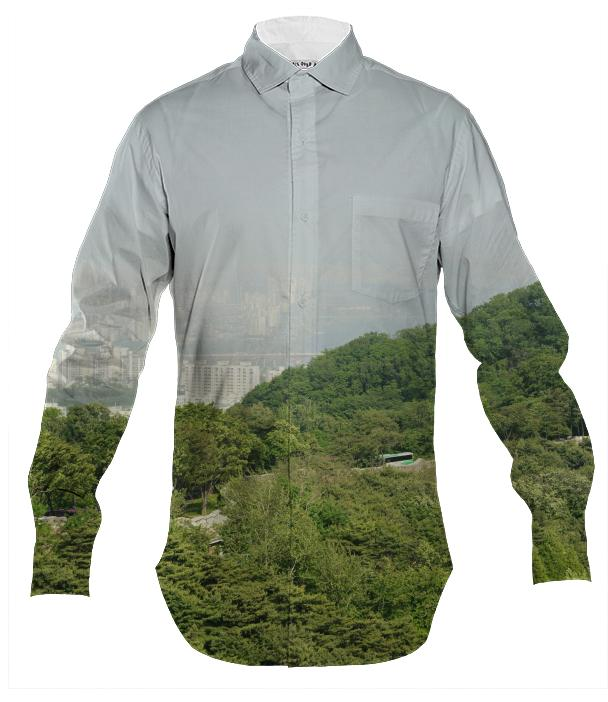 Seoul View Men s Button Down