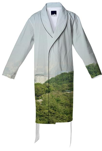 Seoul View Cotton Robe
