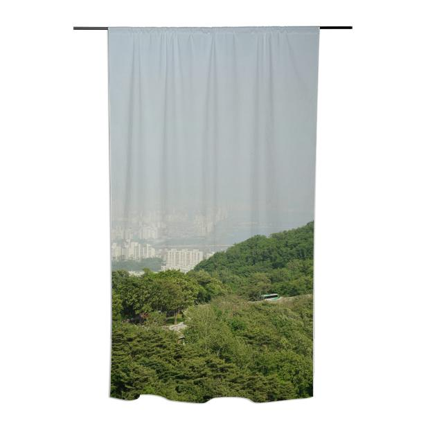 Seoul View Curtain