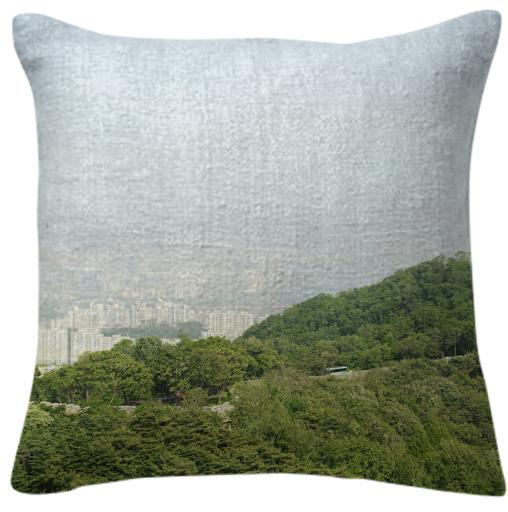 Seoul View Pillow