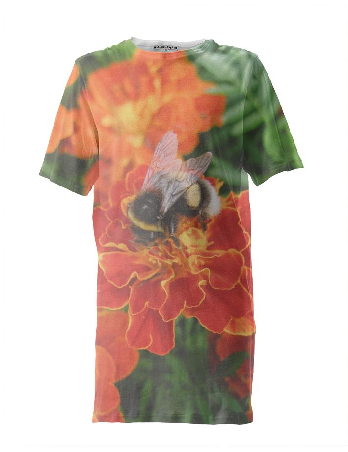 Bumblebee on Marigold Tall Tee