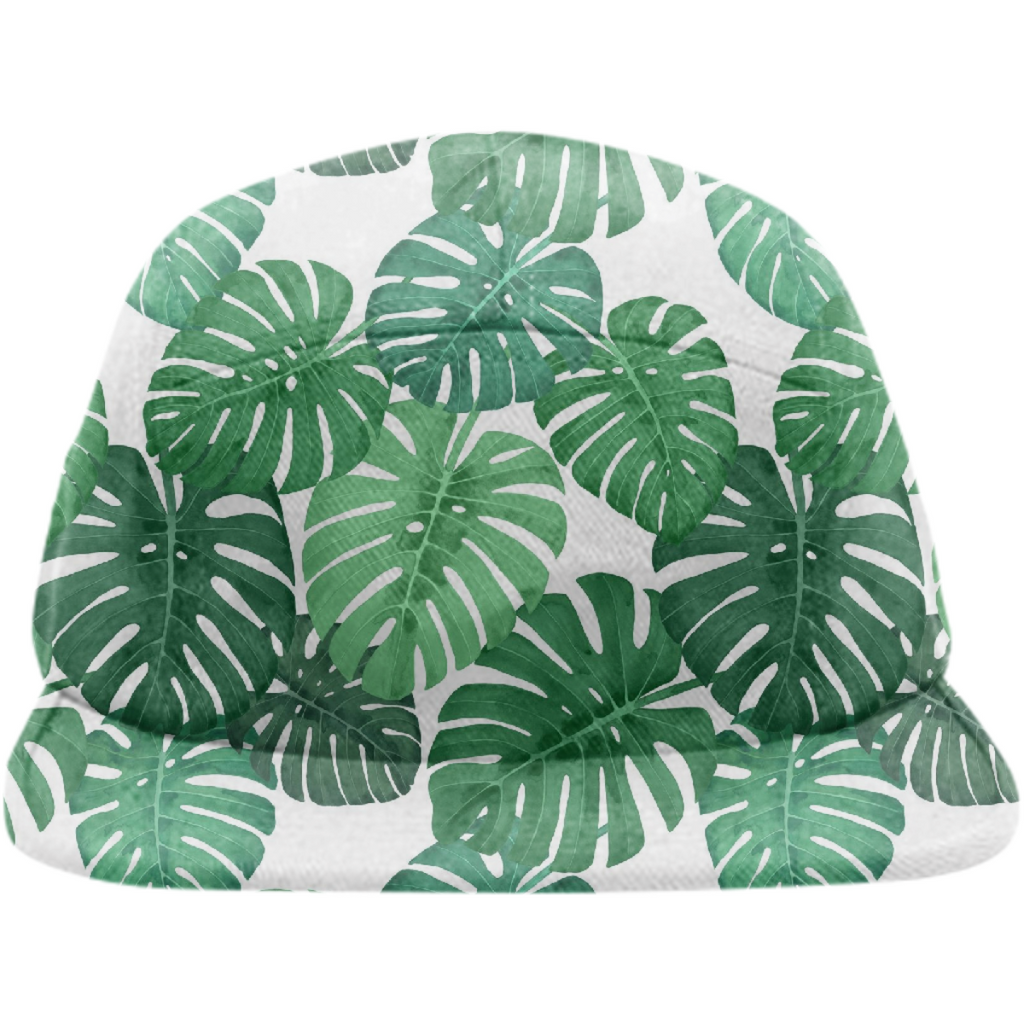 Monstera Jungle Hat by Frank-Joseph