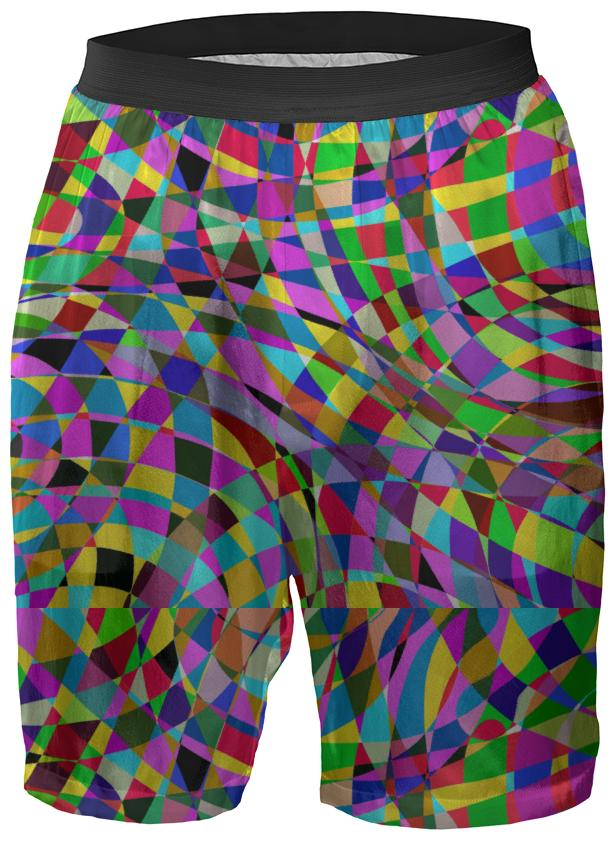 Color Swirl Boxers