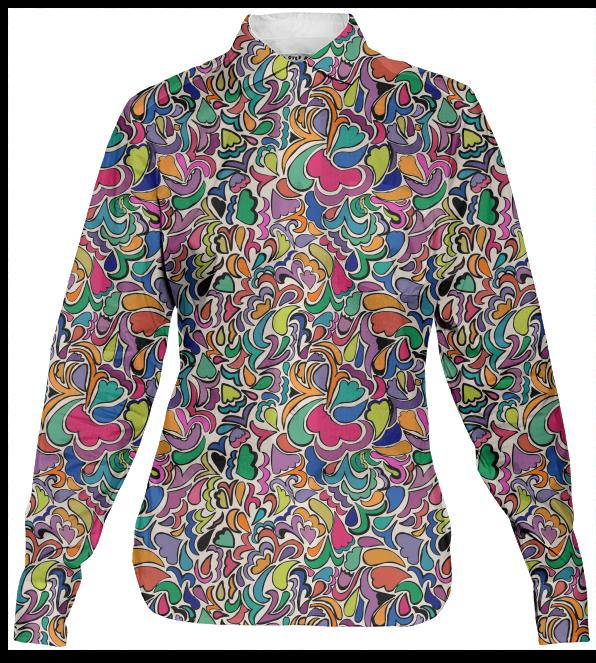 Groovy Funky Womens Shirt