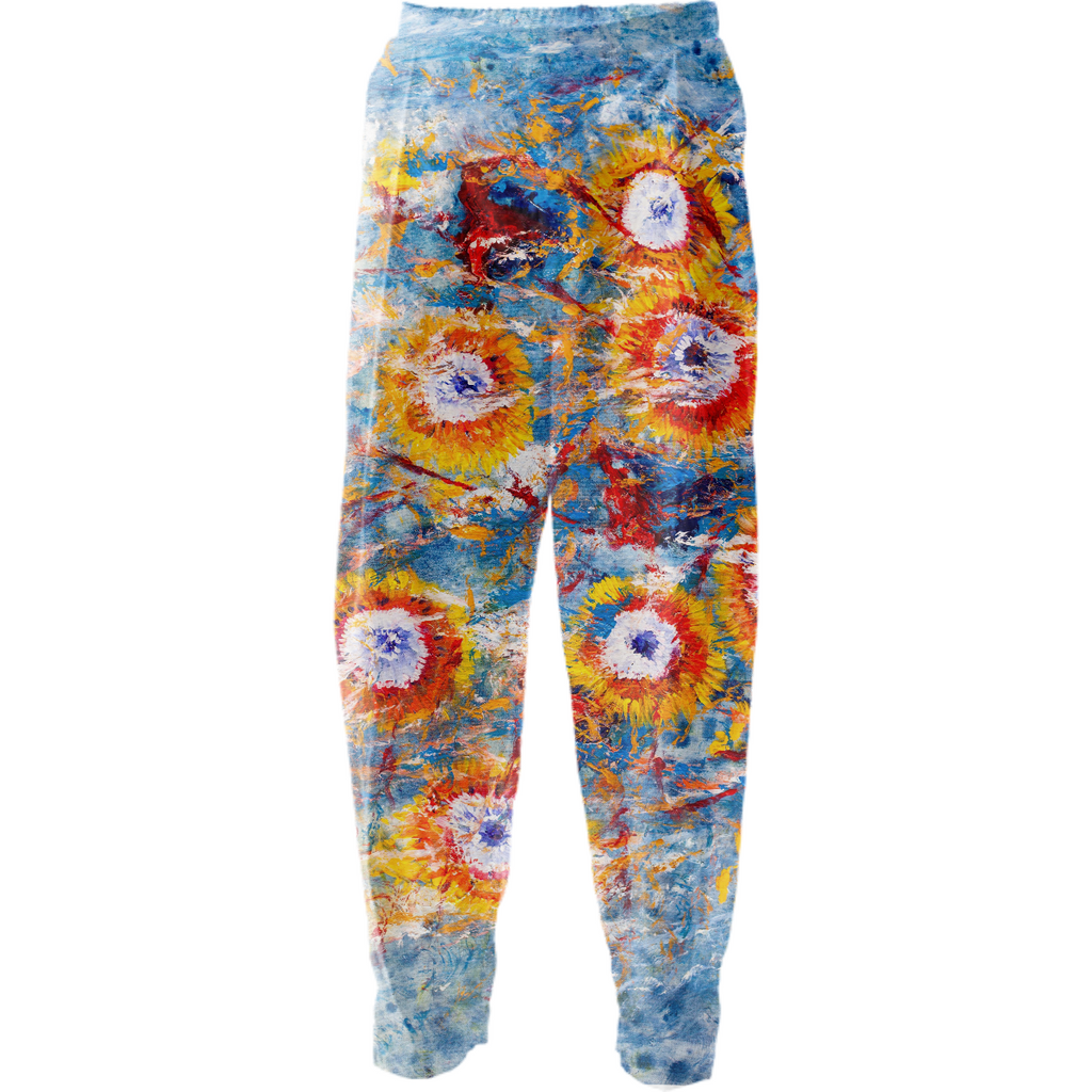 Flores Relaxed Cotton Pants