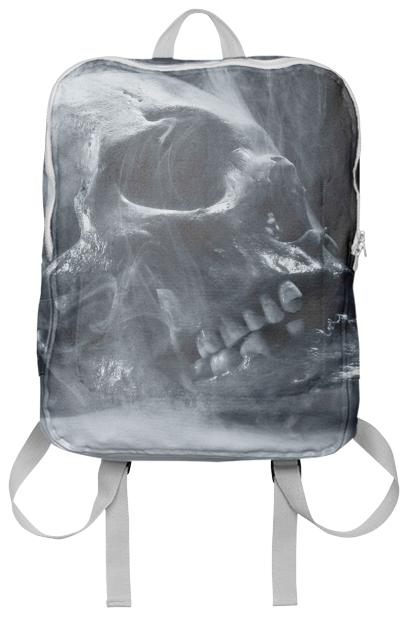 Gothic Abstract Smoking skull