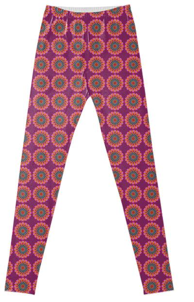 Vector Mandala 119 Leggings