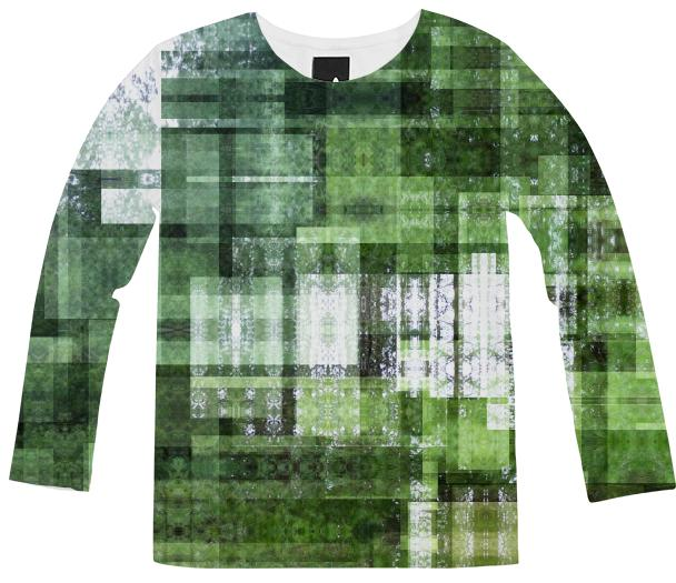 Tape Echo Forest Long Sleeve Shirt