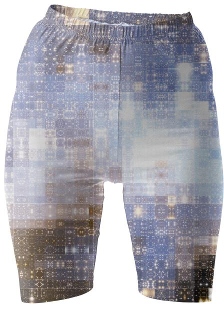 Tapestry of Stars Bike Shorts