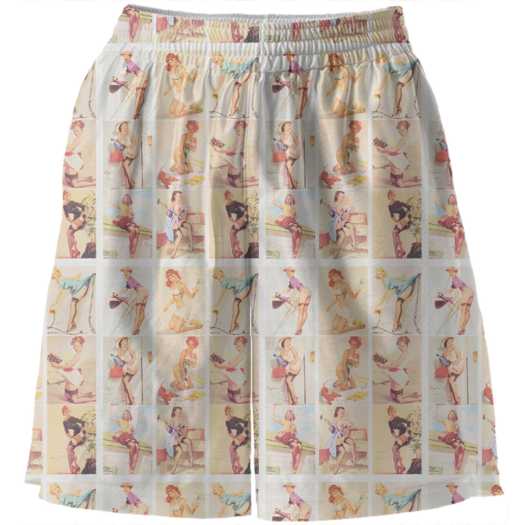 Mirage Pin-up Girl Shorts