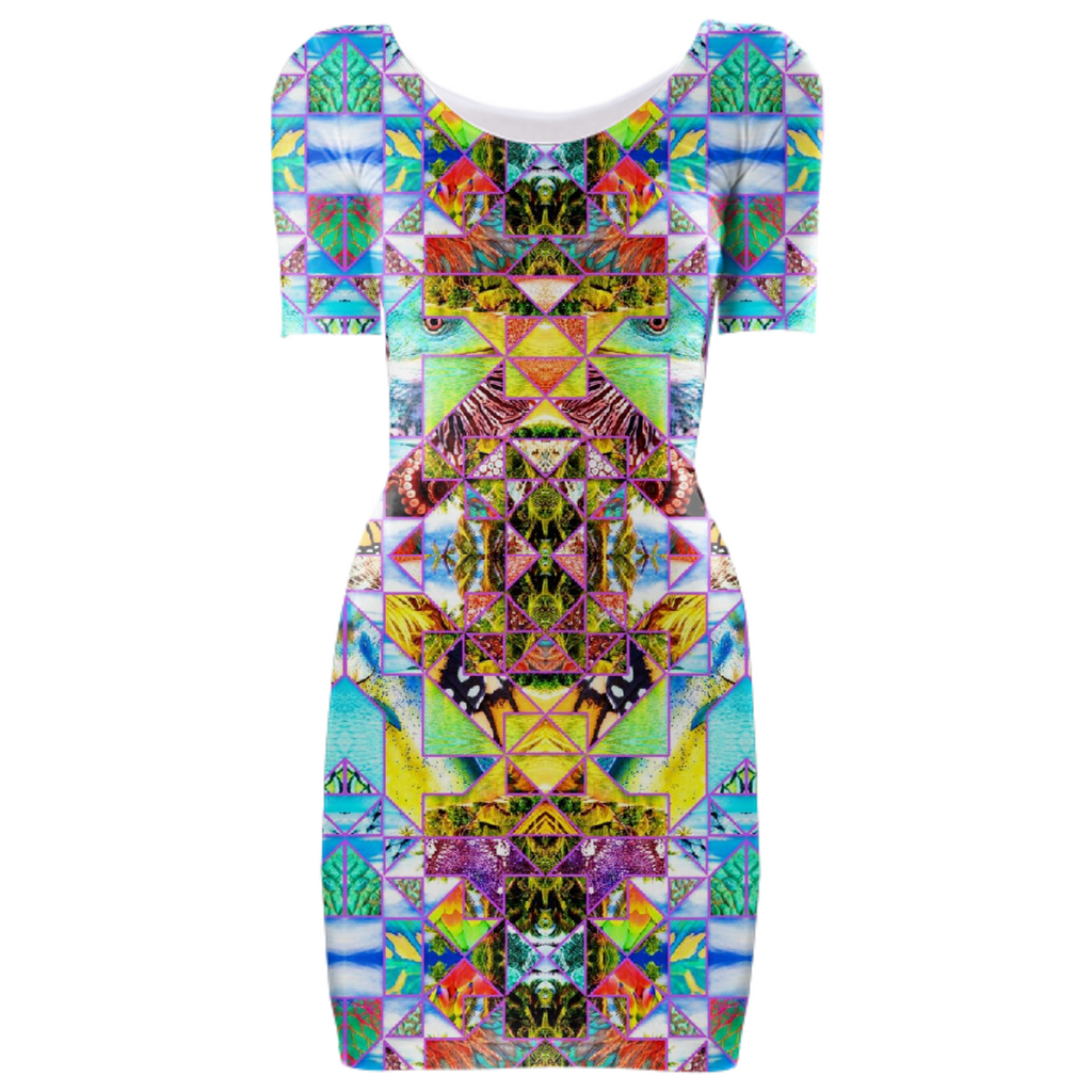 PAOM, Print All Over Me, digital print, design, fashion, style, collaboration, babyboofiji, Bodycon Dress, Bodycon-Dress, BodyconDress, Naturally, Fiji, autumn winter spring summer, unisex, Spandex, Dresses