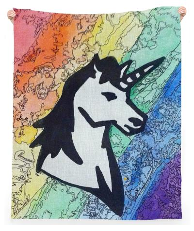 Unicorn Rainbow Towel